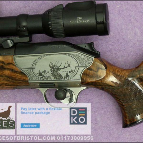 Blaser R8 Custom Roe and Red Grade 9 6.5mm Creedmoor