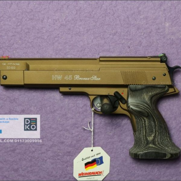 Weihrauch HW 45 Bronze Star .22