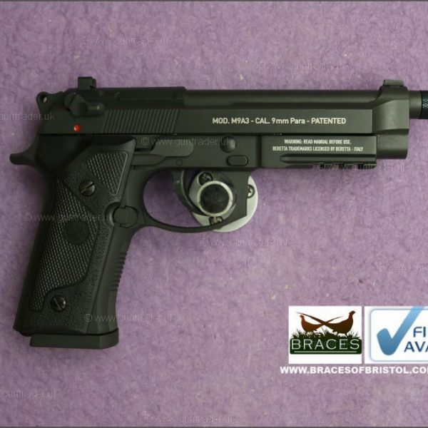 Umarex Beretta M9 A3 Full Metal Black .177 (BB)