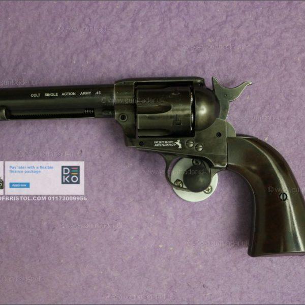 Umarex Colt SAA .45 – 5.5″ ANTIQUE .177