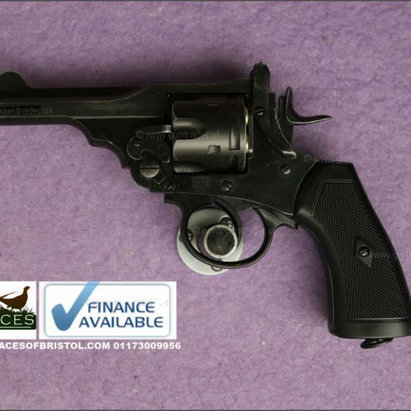 Webley Mk VI .455 4″ Revolver .177